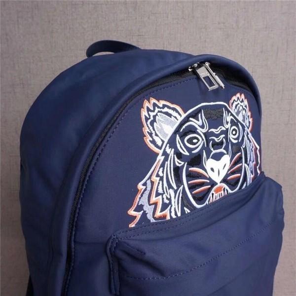KENZO/ケンゾー トラの顔 男女兼用バッグ リュックサック バックパック 大人気新品 ネイビー+ピンク_画像4