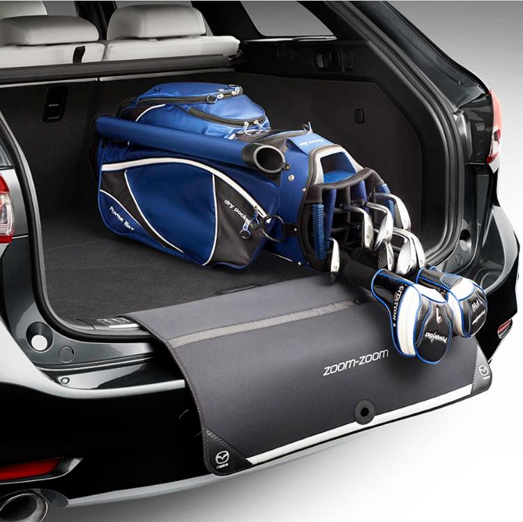 豪州(オーストラリア) マツダ 純正 リアバンパーカバー プロテクター CX-3 CX-5 CX-8 アテンザ アクセラ デミオ 等 Mazda_画像2
