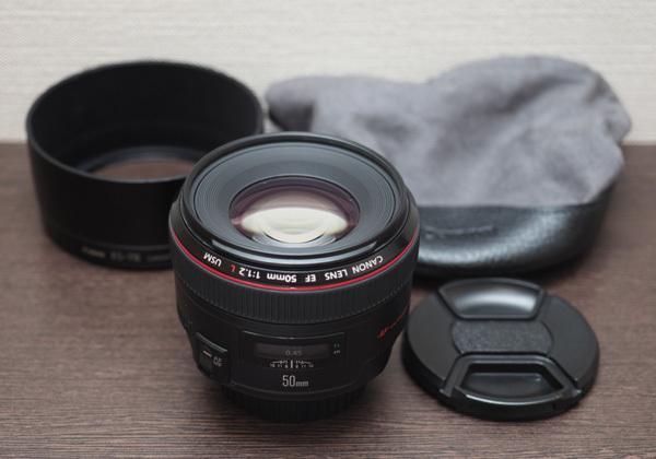 中古美品!! Canon EF50mm F1.2L 大口径標準Lレンズ!!