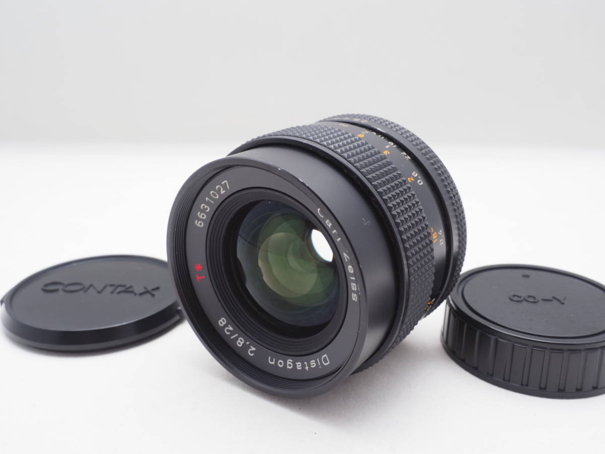rare lens * Contax Carl Zeiss Distagon 28mm F2 8 T* AEJ: Real Yahoo
