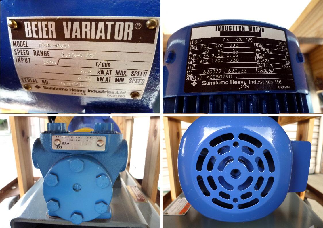 東興産業 VIKING PUMP バイキング ポンプ:FH432-D/BHHM-N05A/TC-F◆超寿命、高効率★新品_画像3