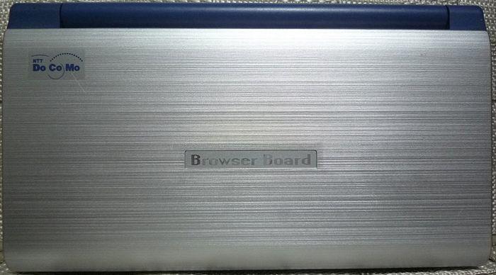 SHARP シャープ NTT DoCoMo ドコモ A99-0285JP ブラウザボード 日本製 本体のみ ジャンク_画像1