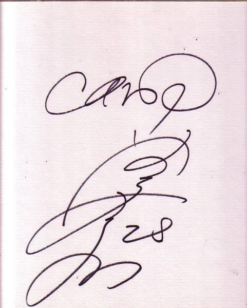 広島東洋カープOB 選手名不明 サイン色紙(直筆)背番号28_画像1