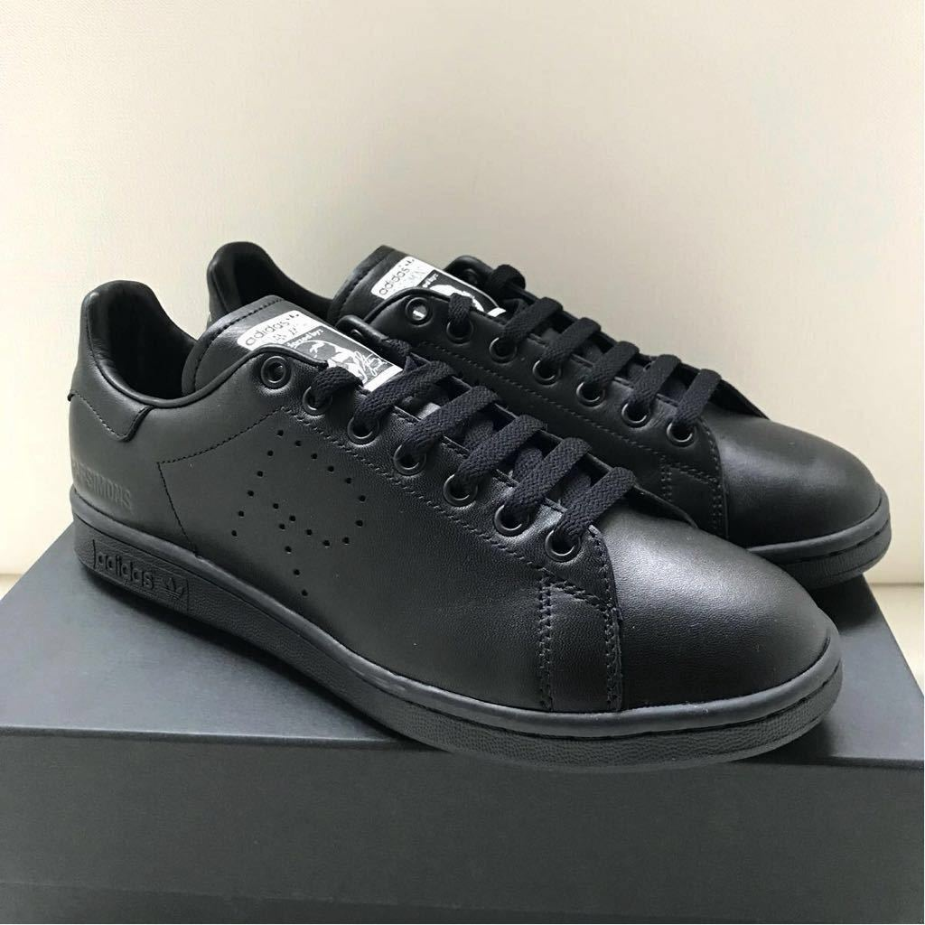 657d8f5d9ec200 new goods 2018SS Adidas Raf Simons RS Stansmith 26.B22545 black black adidas  RS STAN SMITH leather sneakers men s