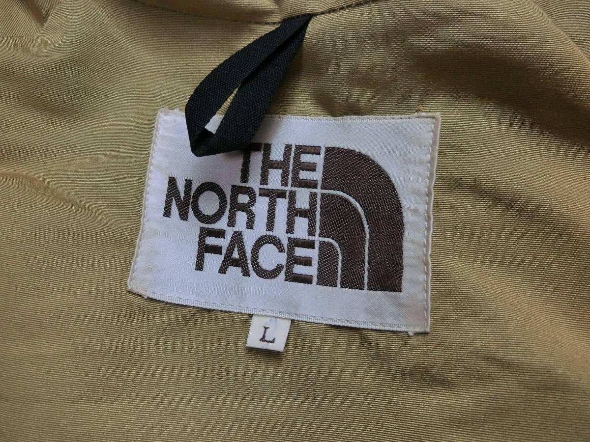 90s THE NORTH FACE 日本製 ノースフェイス 茶タグ 復刻 ナイロン マウンテンパーカー L_画像4