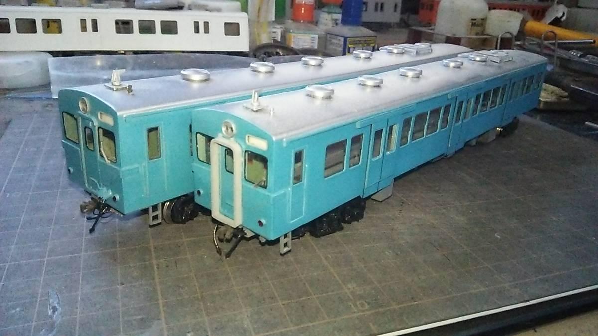 関東鉄道キハ350青塗装(タイプ)