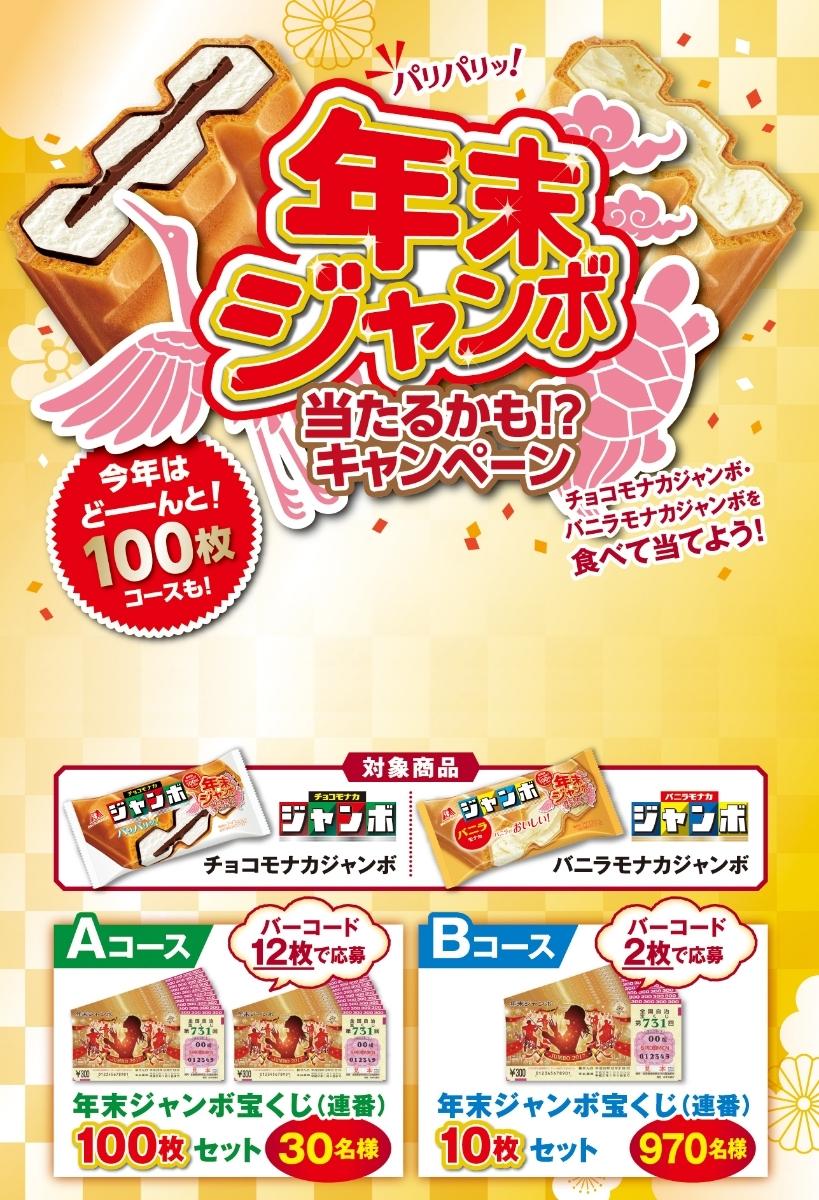 48枚★森永チョコモナカジャンボ★年末ジャンボ当たるかも!?キャンペーン(12枚Aコース4口)