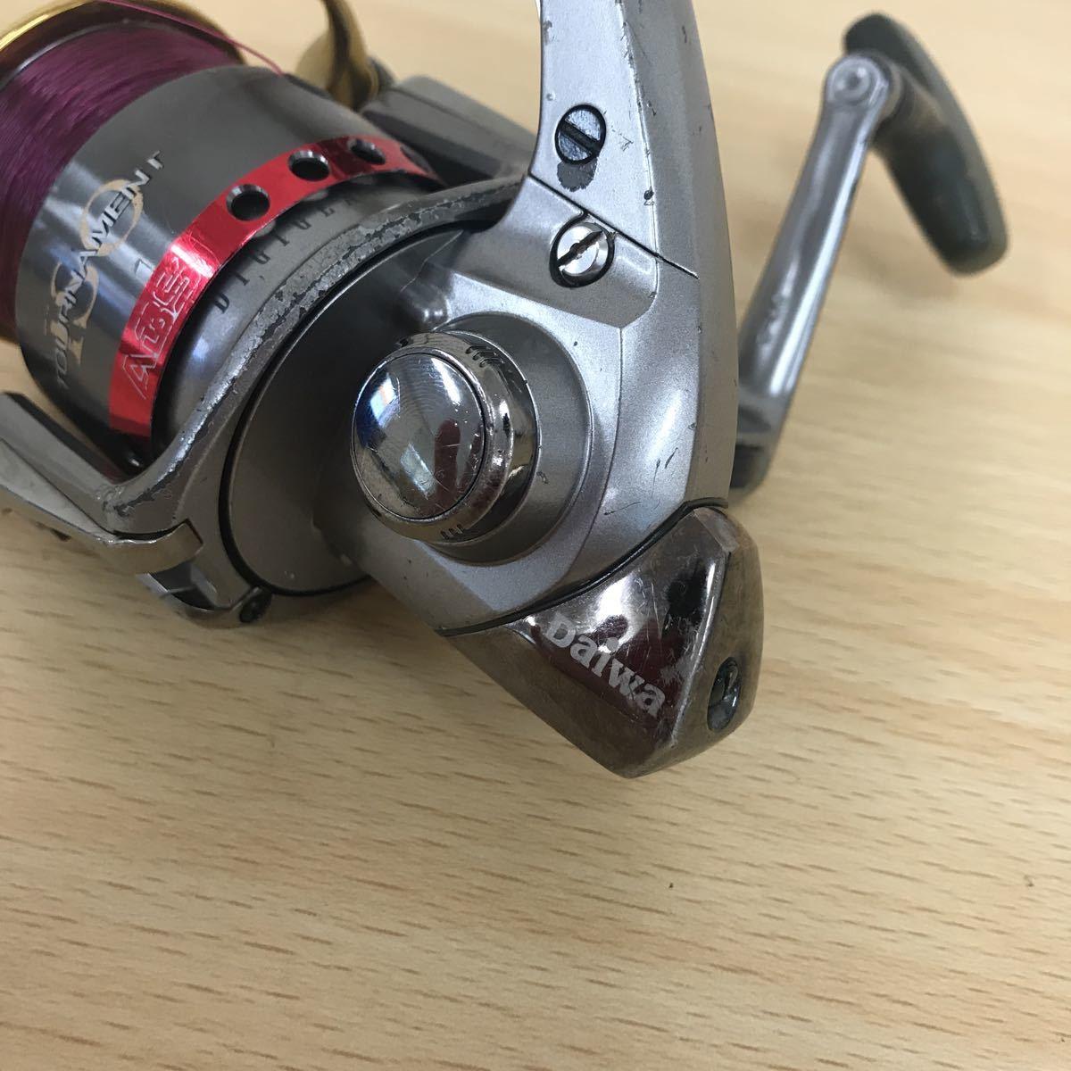 中古品 Daiwa トーナメント ISO Z3000LB ダイワ スピニングリール 釣具 TOURNAMENT_画像3