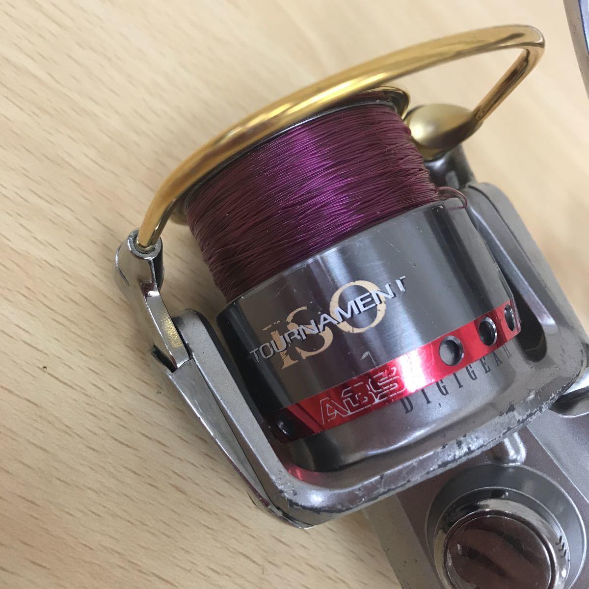 中古品 Daiwa トーナメント ISO Z3000LB ダイワ スピニングリール 釣具 TOURNAMENT_画像2
