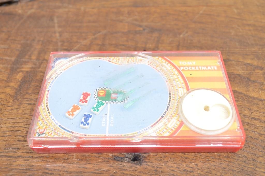 トミー【ポケットメイト】レーシングゲーム バランス相撲2点まとめて_画像9