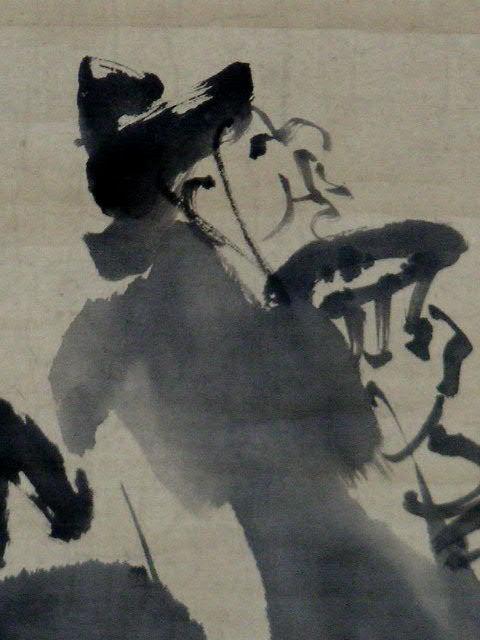 ◎蔵くら◎ 【模写】 日本画 【 渡辺 崋山 】 掛け軸 ◎ 181023 A94 掛軸 骨董 古玩 古画 中国 古筆 アンティーク レトロ_画像8