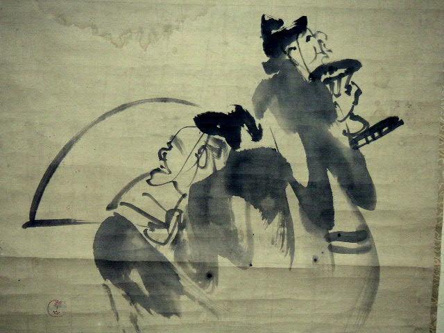 ◎蔵くら◎ 【模写】 日本画 【 渡辺 崋山 】 掛け軸 ◎ 181023 A94 掛軸 骨董 古玩 古画 中国 古筆 アンティーク レトロ_画像5