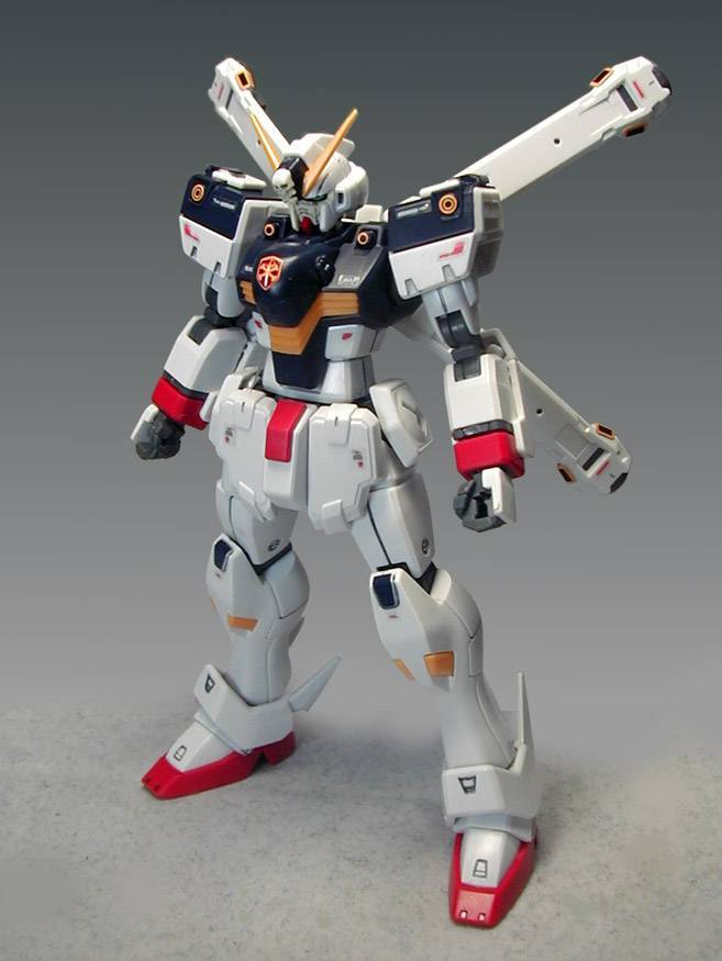 HGUC 1/144 クロスボーン ガンダム X1【 塗装完成品 】機動戦士クロスボーン ガンダム_画像4