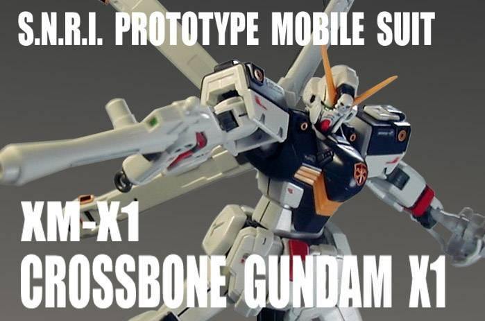HGUC 1/144 クロスボーン ガンダム X1【 塗装完成品 】機動戦士クロスボーン ガンダム_画像1