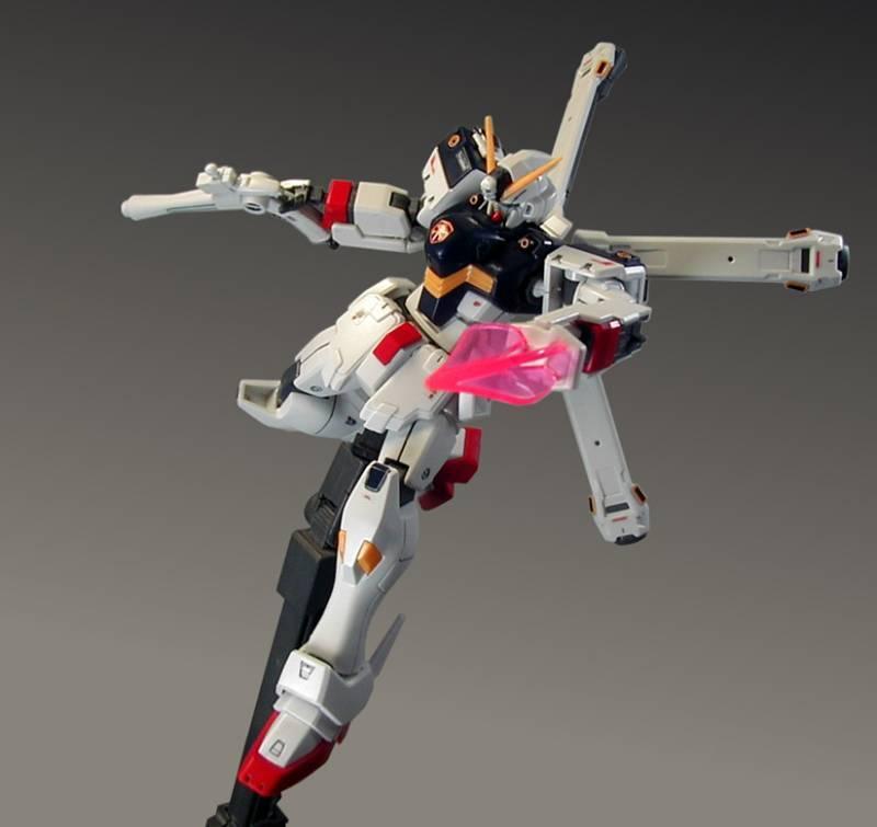 HGUC 1/144 クロスボーン ガンダム X1【 塗装完成品 】機動戦士クロスボーン ガンダム_画像3