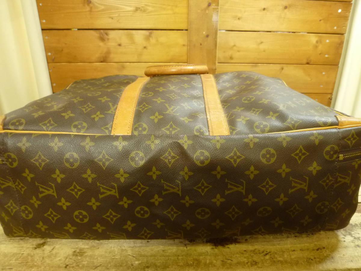 LOUIS VUITTON ルイ ヴィトン モノグラム SIRIUS55 シリウス55 スーツケース 旅行カバン ラージ バッグ [201810]_画像5