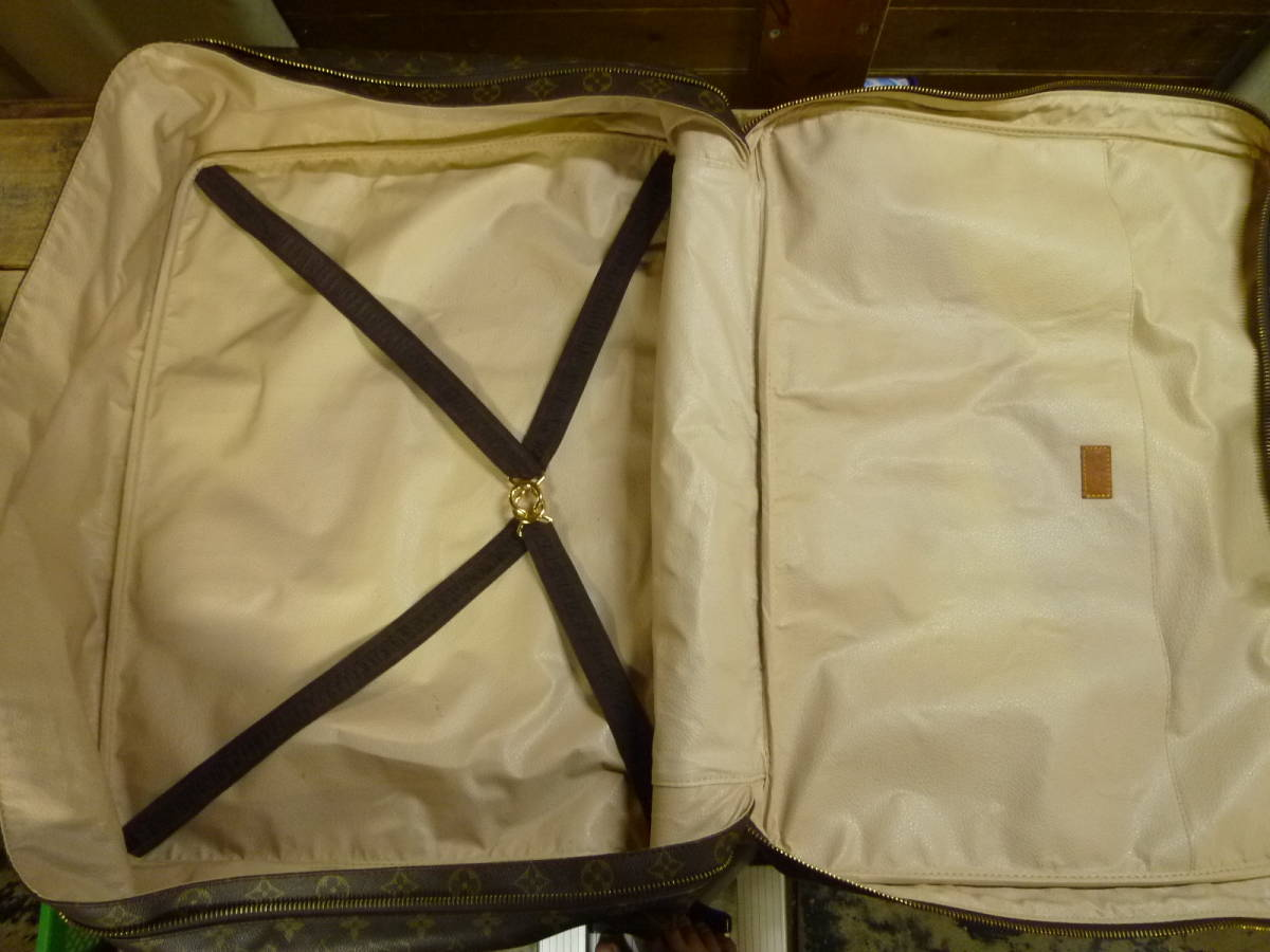 LOUIS VUITTON ルイ ヴィトン モノグラム SIRIUS55 シリウス55 スーツケース 旅行カバン ラージ バッグ [201810]_画像8