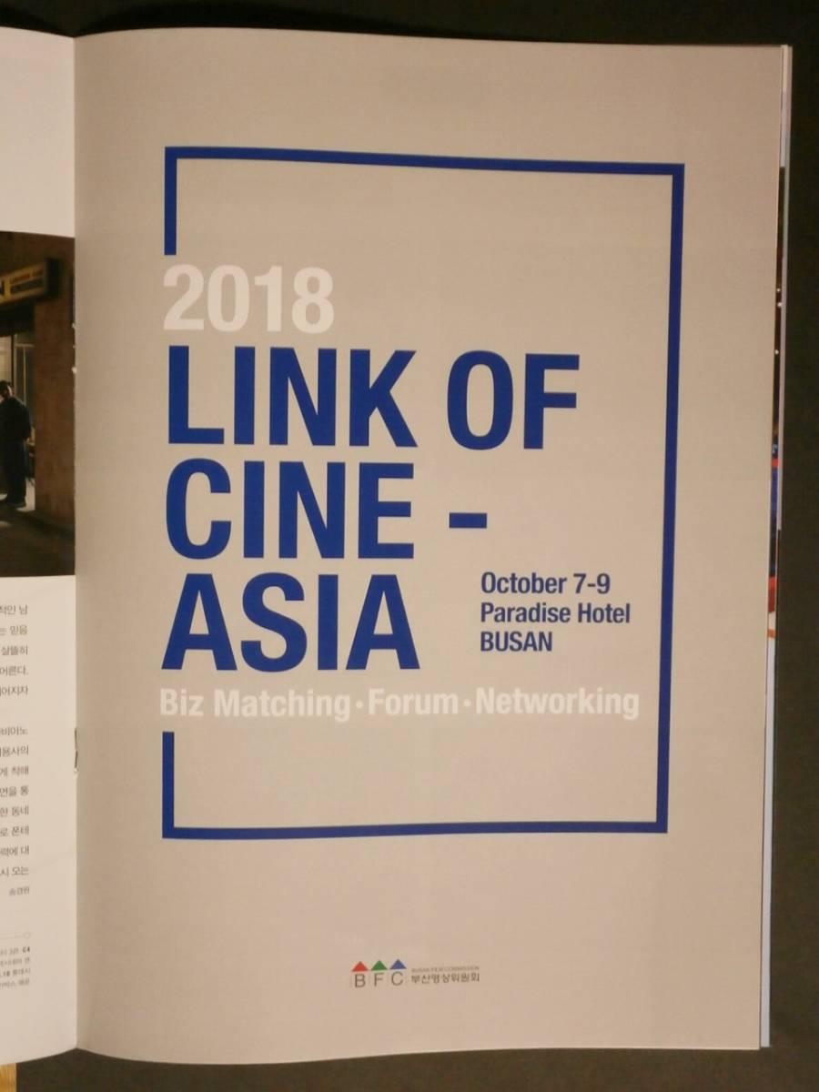 ☆2018.10.05 釜山国際映画祭 パンフレット 表紙/キム・ナムギル_画像4