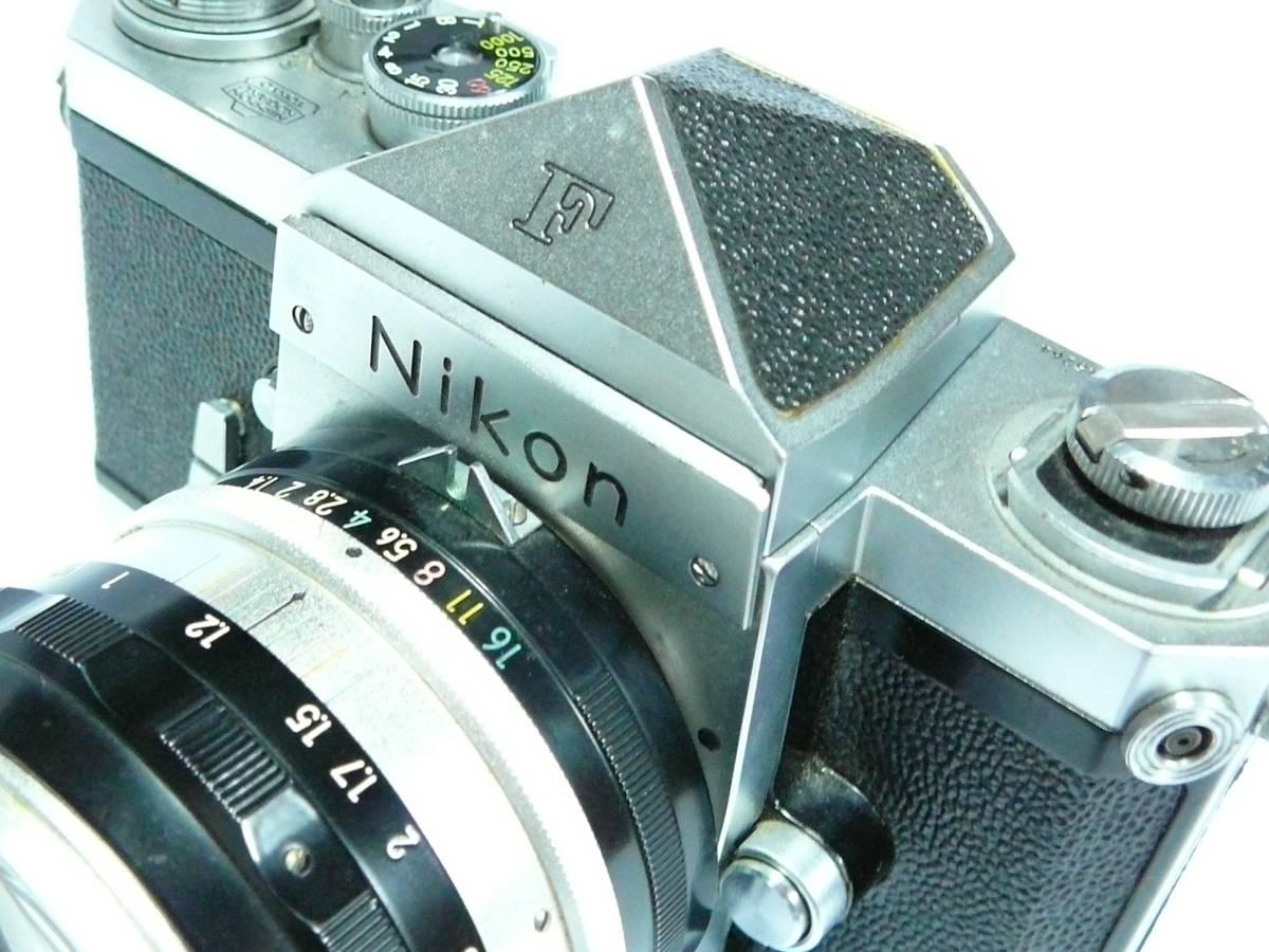 ■【NIKON F 初期型】 アイレベル シリアル№6445264_画像6