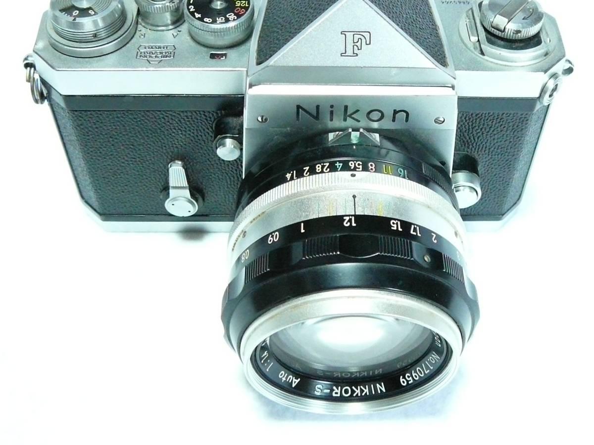 ■【NIKON F 初期型】 アイレベル シリアル№6445264_画像3