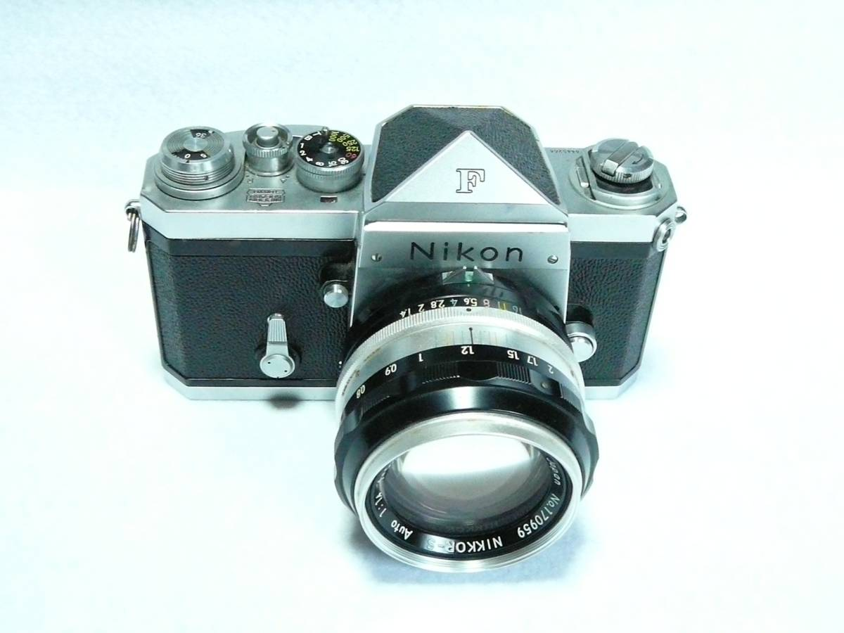 ■【NIKON F 初期型】 アイレベル シリアル№6445264