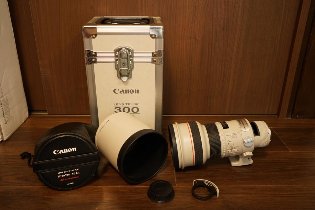 Canon キャノン EF 300mm F2.8 L USM III型 外観、レンズ内超美品 キヤノン