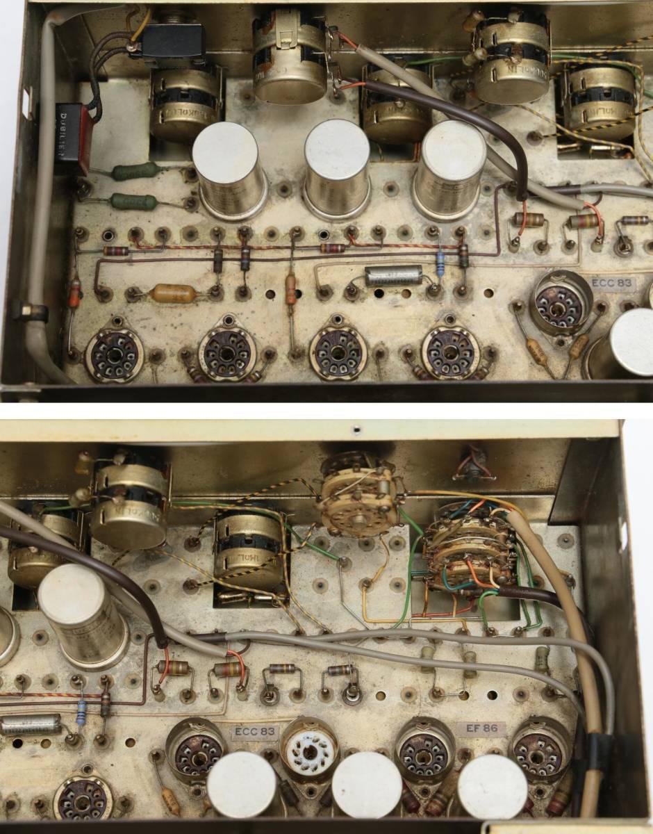 ROGERS HG-88MKII 管球プリメイン 6BQ5pp 120V仕様 ジャンク レストアベースに ロジャース_画像7