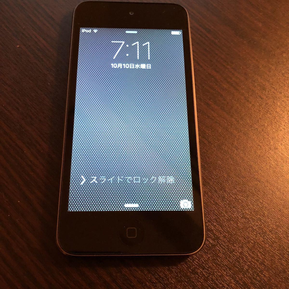 Apple iPod touch 16GB Black 5世代 美品