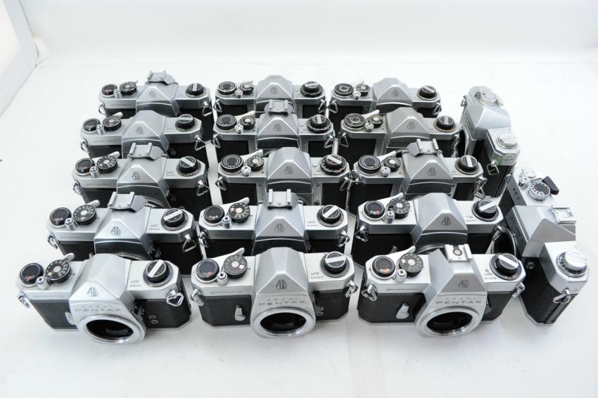 【ecoま】ペンタックス PENTAX/YASHICA/FUJICA M42マウント 一眼レフカメラ 17台まとめて ジャンク