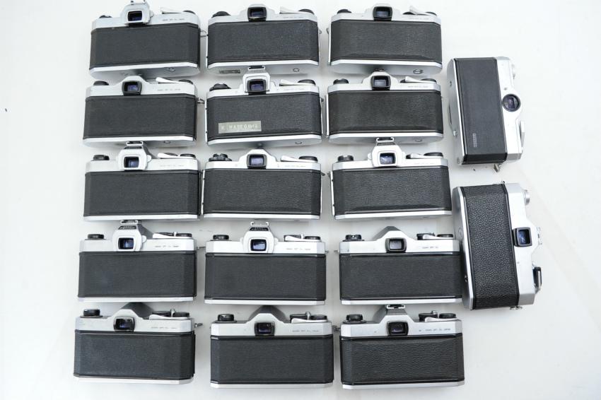 【ecoま】ペンタックス PENTAX/YASHICA/FUJICA M42マウント 一眼レフカメラ 17台まとめて ジャンク_画像4