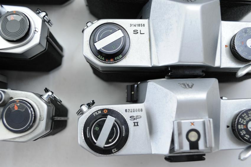 【ecoま】ペンタックス PENTAX/YASHICA/FUJICA M42マウント 一眼レフカメラ 17台まとめて ジャンク_画像9