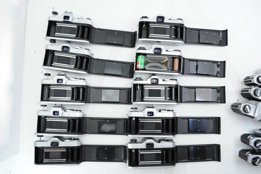 【ecoま】ペンタックス PENTAX/YASHICA/FUJICA M42マウント 一眼レフカメラ 17台まとめて ジャンク_画像7
