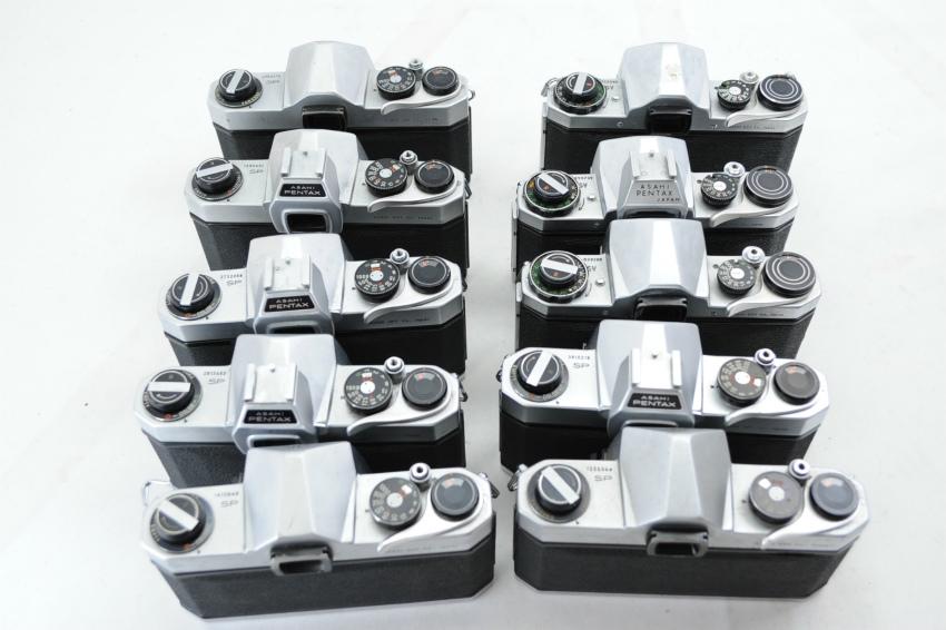 【ecoま】ペンタックス PENTAX/YASHICA/FUJICA M42マウント 一眼レフカメラ 17台まとめて ジャンク_画像8