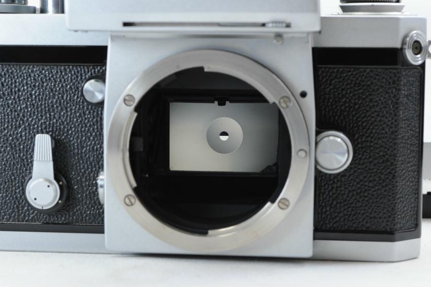 【ecoま】ニコン NIKON F ファインダー2個付き(F/N/アイレベル)富士マーク NIPPON KOGAKU フィルムカメラ_画像2