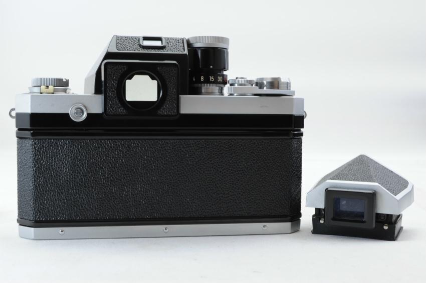 【ecoま】ニコン NIKON F ファインダー2個付き(F/N/アイレベル)富士マーク NIPPON KOGAKU フィルムカメラ_画像3