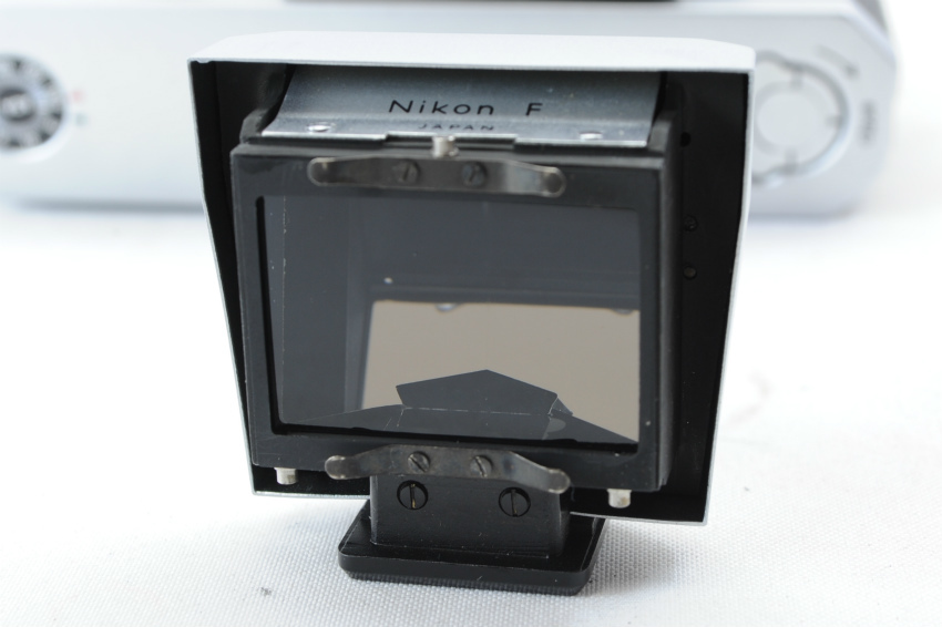 【ecoま】ニコン NIKON F ファインダー2個付き(F/N/アイレベル)富士マーク NIPPON KOGAKU フィルムカメラ_画像7