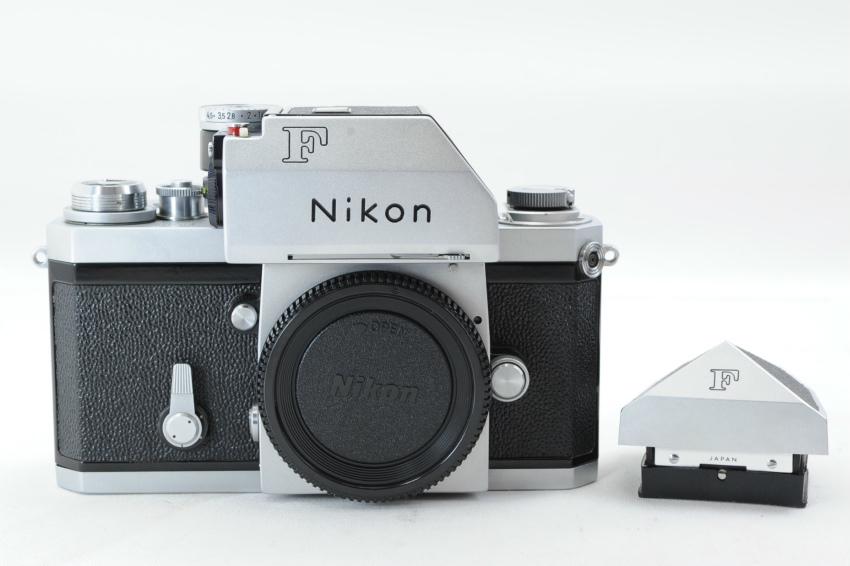【ecoま】ニコン NIKON F ファインダー2個付き(F/N/アイレベル)富士マーク NIPPON KOGAKU フィルムカメラ