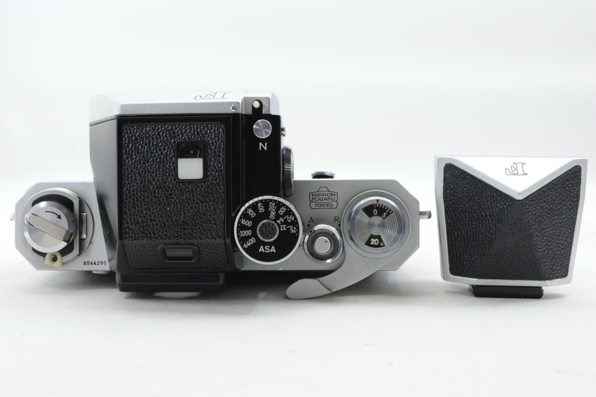 【ecoま】ニコン NIKON F ファインダー2個付き(F/N/アイレベル)富士マーク NIPPON KOGAKU フィルムカメラ_画像4