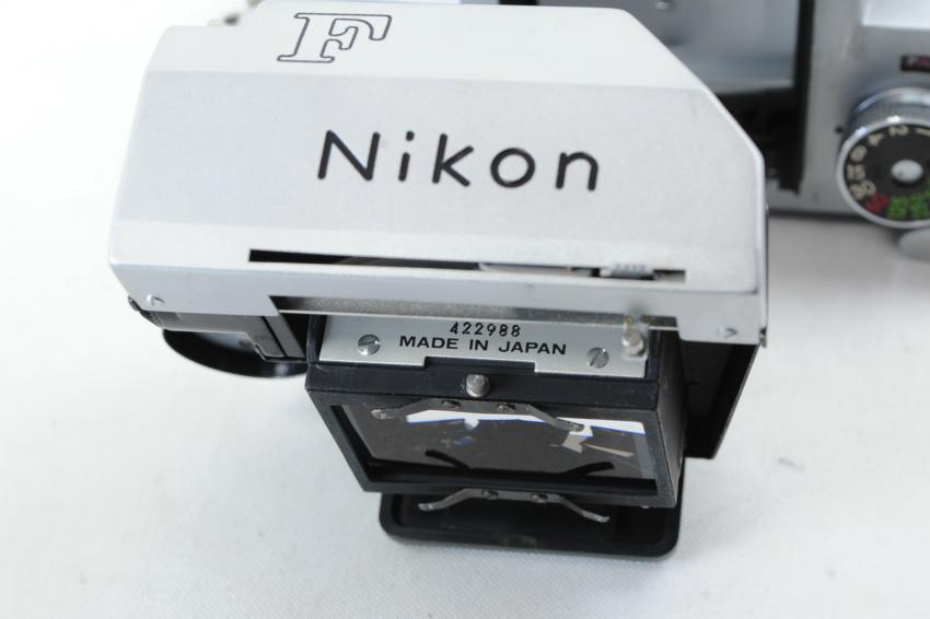 【ecoま】ニコン NIKON F ファインダー2個付き(F/N/アイレベル)富士マーク NIPPON KOGAKU フィルムカメラ_画像10