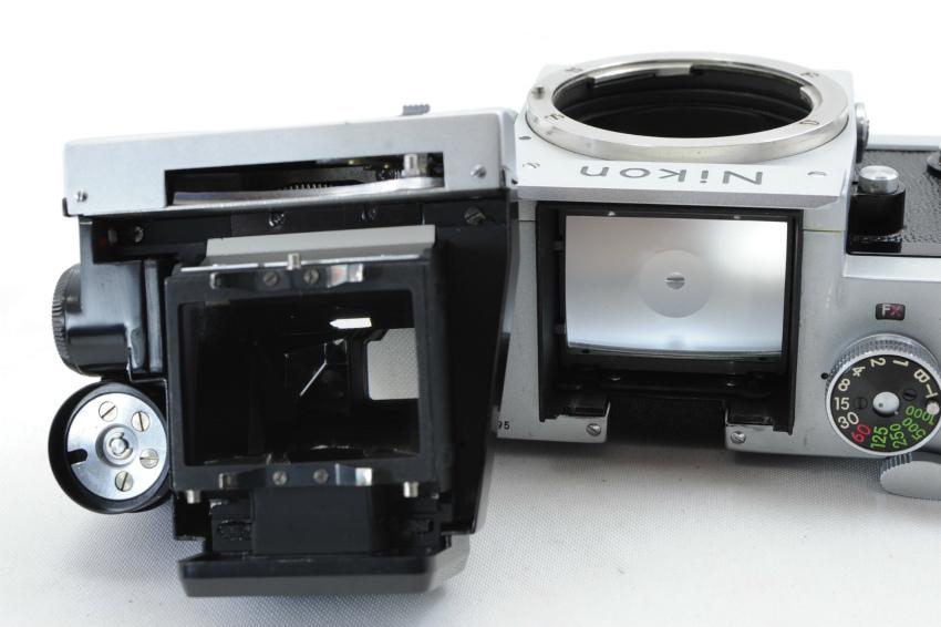【ecoま】ニコン NIKON F ファインダー2個付き(F/N/アイレベル)富士マーク NIPPON KOGAKU フィルムカメラ_画像9