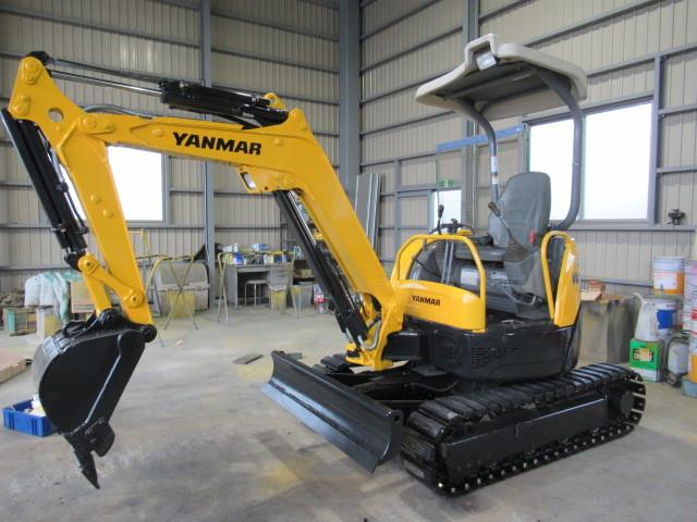 稼働少ない ヤンマー Vio20-3 2t後方小旋回 ユンボ 建設機械 重機