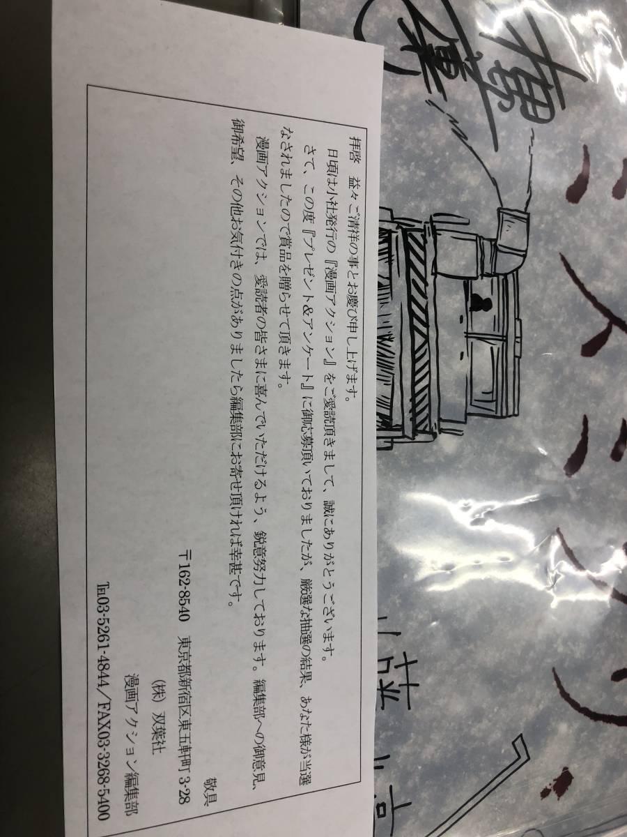 ミスミソウ 直筆サイン入りパンフレット 山田杏奈 内藤瑛亮監督 押切蓮介先生 漫画アクション 抽プレ 当選通知書付き 最新_画像2