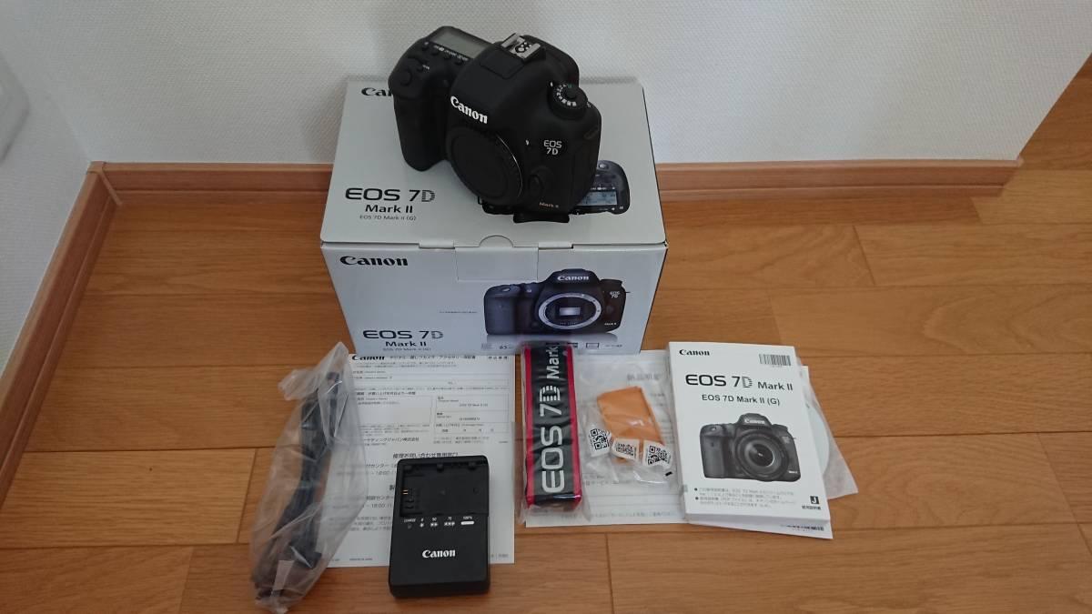【中古・超美品】Canon EOS7D MarkⅡ BODY 本体のみ-日本代购网图片1链接