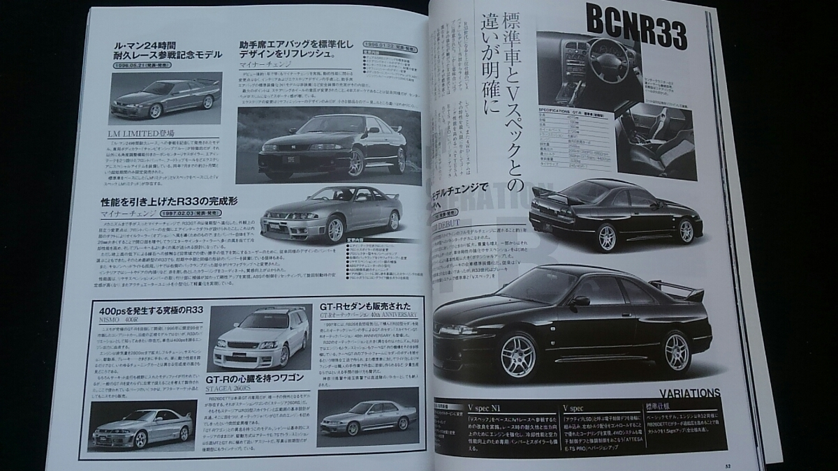 日産 スカイライン GT-R チューニング&ドレスアップ徹底ガイド デモカー インテリア パーツカタログ R32 R33 R34 ホイール エアロ_画像6