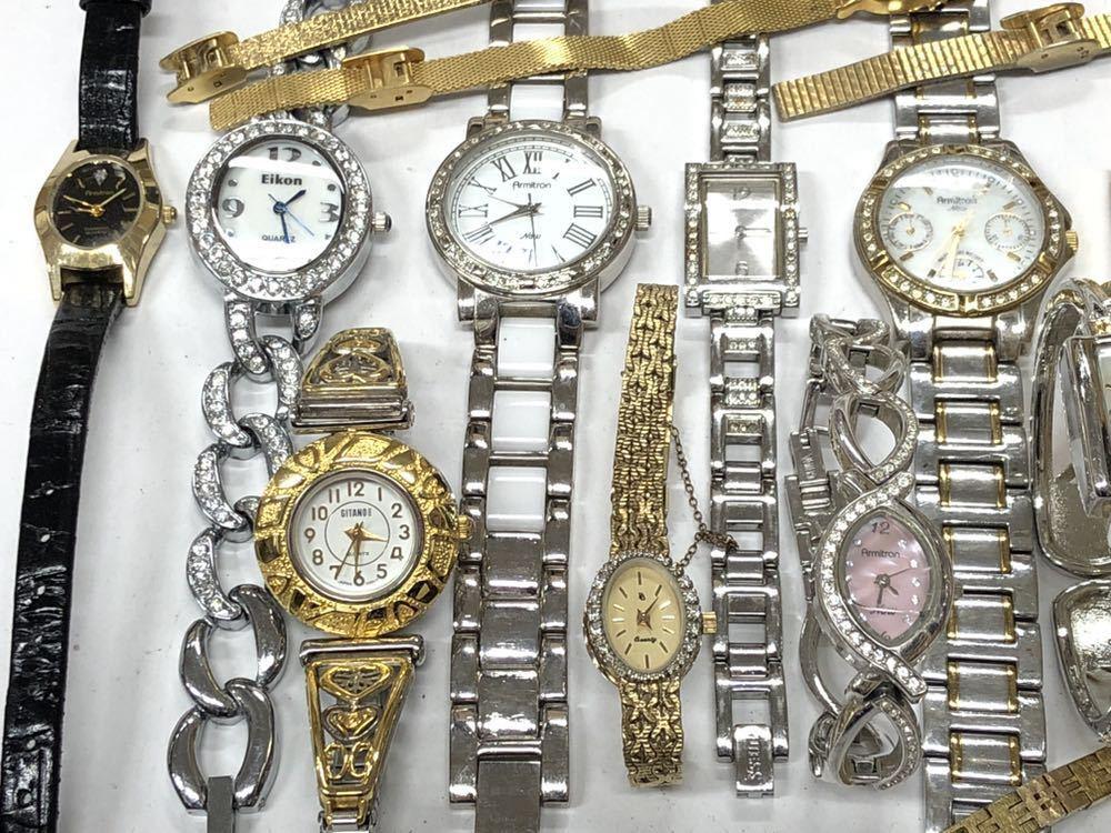 宝飾腕時計など20点 ゴールド シルバー ダイヤモンド 大量 まとめ売りセット ジャンク 豪華 格安1スタート 部品取り GRUEN WALTHAM 056_画像2