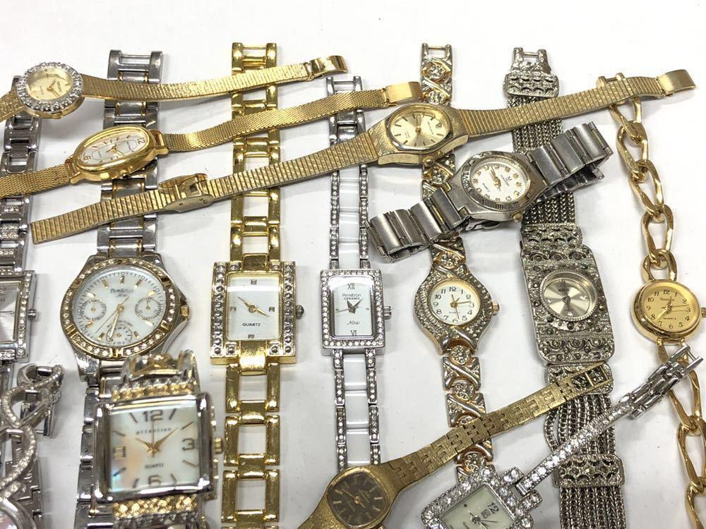 宝飾腕時計など20点 ゴールド シルバー ダイヤモンド 大量 まとめ売りセット ジャンク 豪華 格安1スタート 部品取り GRUEN WALTHAM 056_画像10