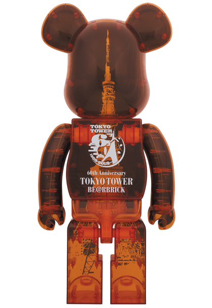 TOKYO TOWER BE@RBRICK 1000% 東京タワー ベアブリック MEDICOM TOY PLUS メディコムトイ 新品未開封 即決 開業60周年記念_画像2