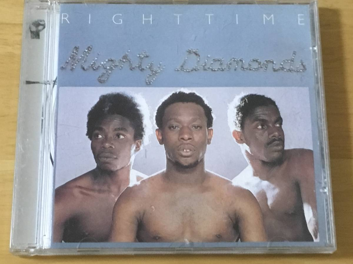 The Mighty Diamonds Right Time 輸入盤CD 検:マイティダイアモンズ 1976 1st Roots Reggae Rock Steady Channel One
