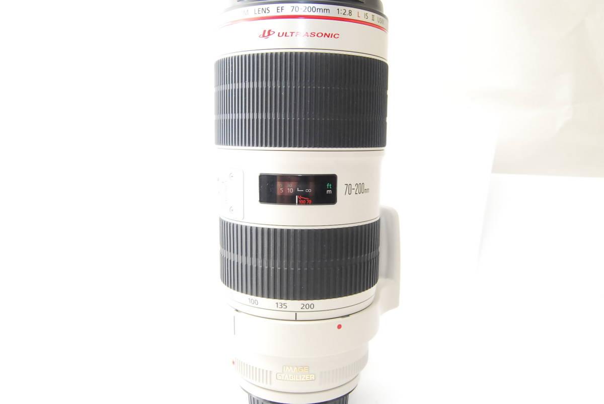 2715 防湿庫保管の極上品 Canon EF70-200mm f2.8L IS Ⅱ USM 現行2型 完動品 3ヶ月保証付_画像7
