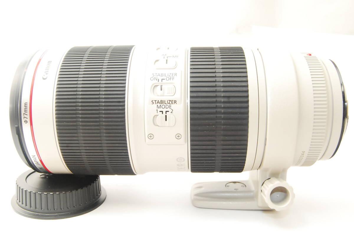 2715 防湿庫保管の極上品 Canon EF70-200mm f2.8L IS Ⅱ USM 現行2型 完動品 3ヶ月保証付_画像5
